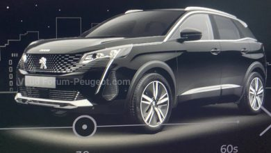 Peugeot 3008 II restylée 2020 : les premières photos officiell