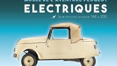 Exposition : les modèles électriques du Lion au Musée de l'Aventure Peugeot