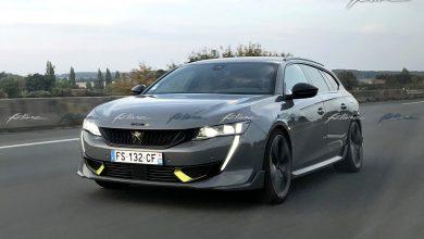 Photo espion 508 SW PSE Peugeot Sport Engineered (2020)