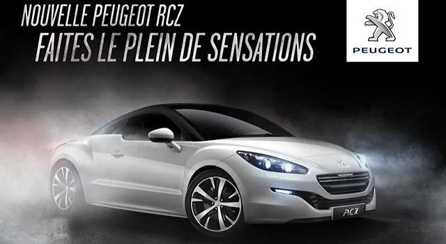 Publicités Peugeot