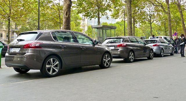 Essai de la nouvelle Peugeot 308 II, à l'occasion de l'opération 3:08