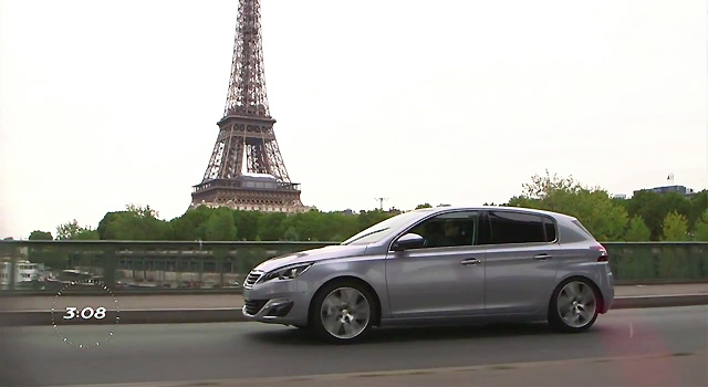 Essais de la Peugeot 308 II - Opération 3:08