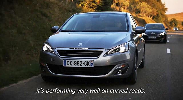 Essais nouvelle Peugeot 308 II par les blogueurs internationaux en vidéo