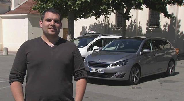 Essai de la nouvelle Peugeot 308 SW par un chauffeur de taxi