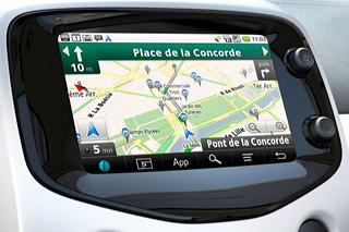 Ecran Tactile GPS Peugeot 108