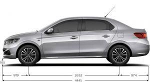 Caractéristiques Techniques de la Peugeot 301