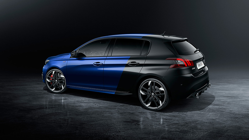 peugeot 308 gti by peugeot sport 1 6 thp 250 et 270 ch f line. Black Bedroom Furniture Sets. Home Design Ideas