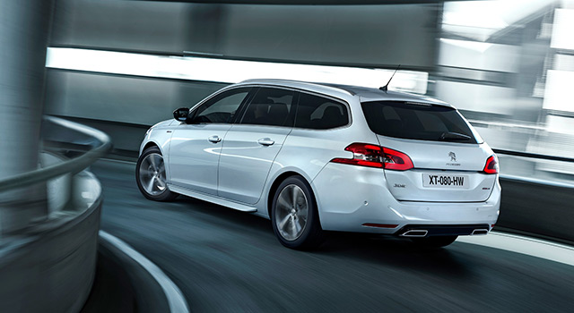 Design Peugeot 308 SW (break)