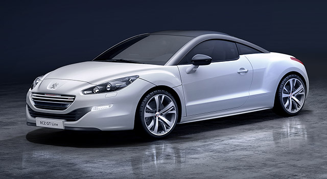 peugeot rcz gt line f line. Black Bedroom Furniture Sets. Home Design Ideas
