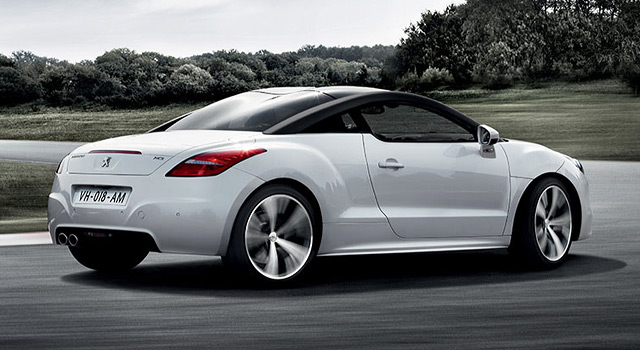 les tarifs et options de la peugeot rcz f line. Black Bedroom Furniture Sets. Home Design Ideas