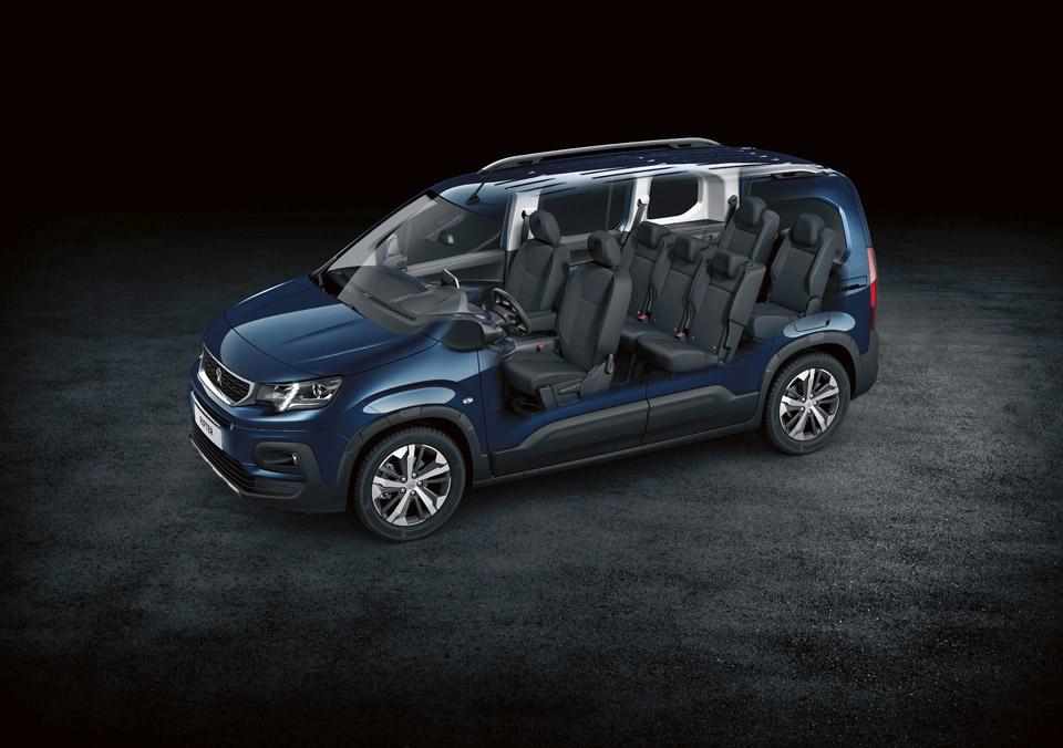 Photo sièges Peugeot Rifter