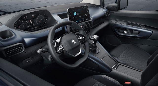 Equipements du Peugeot Rifter