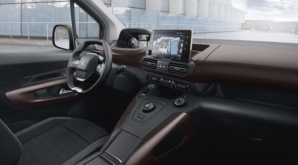 Photo intérieur i-Cockpit Peugeot Rifter GT Line