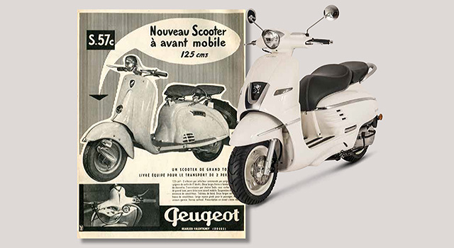 Scooter Peugeot Django néo rétro
