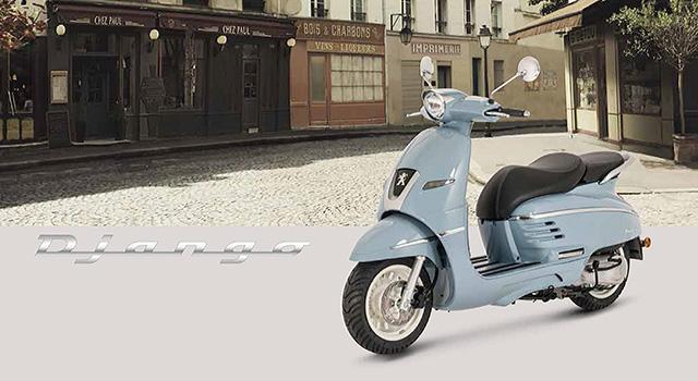 Peugeot Django Le Scooter Neo Retro A Mi Chemin Entre
