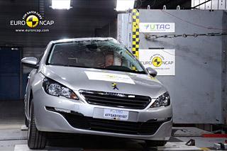 la nouvelle peugeot 308 décroche 5 étoiles au crash test euro ncap