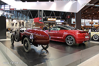 photos l aventure peugeot au salon r tromobile 2014 news f line. Black Bedroom Furniture Sets. Home Design Ideas
