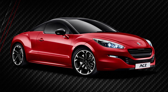 la peugeot rcz red carbon limited edition 2014 news f line. Black Bedroom Furniture Sets. Home Design Ideas