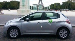 Location Peugeot Paris (Zipcar)