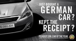 Publicité Peugeot 308