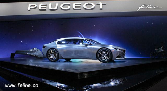 Stand Peugeot - Mondial de Paris 2014
