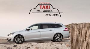La Peugeot 308 SW élue Taxi de l'Année 2014-2015