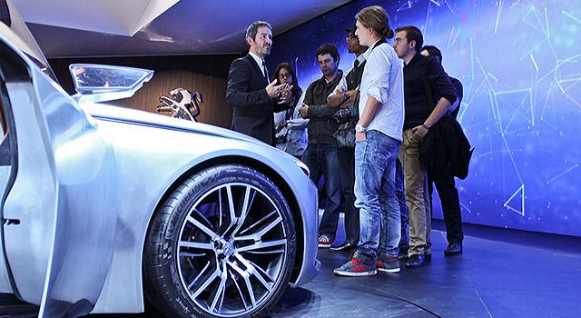 Peugeot Fan Days au Mondial de l'Automobile de Paris 2014