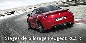 Stage de pilotage Peugeot RCZ R