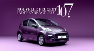 Publicité TV Peugeot 107 - « Independence Way » (2012)