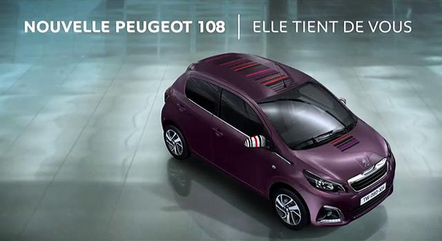 Publicité Peugeot 108