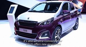 Peugeot 108 : interview d'Aurélie Bresson - Salon de Genève 2014