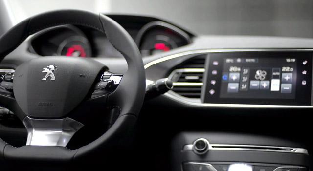 Présentation design intérieur Peugeot 308 II - Gilles Vidal