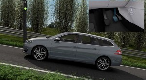 Aide au démarrage en pente Peugeot 308 SW II