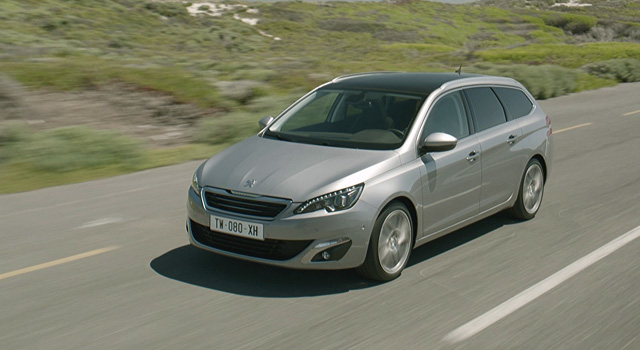 Vidéo officielle Peugeot 308 SW II