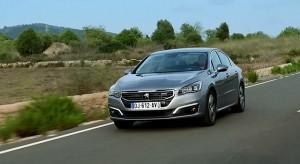 Essais de la Peugeot 508 restylée - Vidéo officielle (2014)