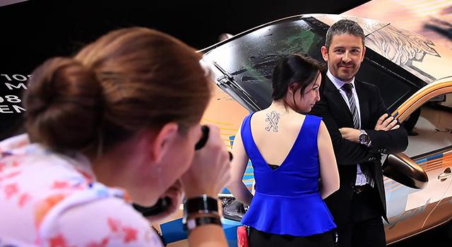 Les Peugeot Fan Days au Salon de Genève 2014