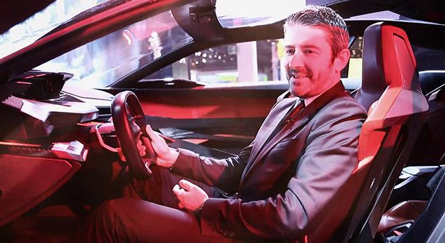 Interview de Gilles Vidal (Peugeot) – Mondial de Paris 2014