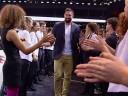 Vidéo : Nikola Karabatic sur le stand Peugeot du Mondial de Paris 2014