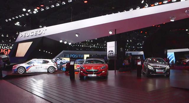 Vidéo : visite du stand Peugeot avec Maxime Picat – Mondial de Paris 2014