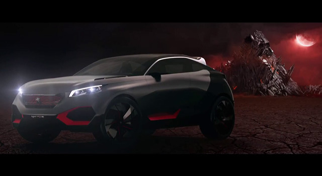 Vidéo officielle Peugeot Quartz Concept (2014)