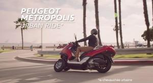 Publicité Peugeot Metropolis - Urban Ride (2013)