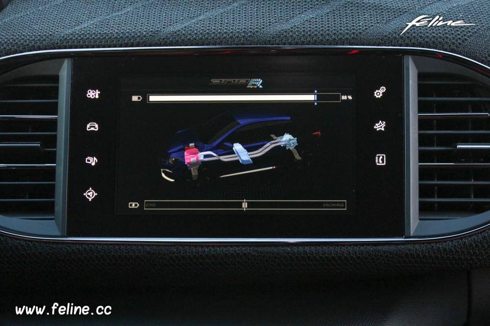 Photo cran tactile peugeot 308 r hybrid showcar 2015 for Photo ecran 308