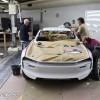 Photo coulisses projet Peugeot e-Legend Concept Car (2018)