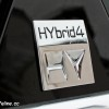 Badge HYbrid4 Peugeot 508 RXH - Peugeot Winter Experience 2014