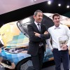 Photo Peugeot Fan Days : Adrian avec Gilles Vidal - Salon de Gen
