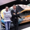Photo Peugeot Fan Days : Thierry avec Gilles Vidal - Salon de Ge