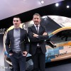 Photo Peugeot Fan Days : Adrien avec Gilles Vidal - Salon de Gen