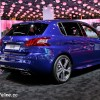 Photo Peugeot 308 GT Bleu Magnetic - Salon de Paris 2014