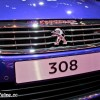 Photo calandre Peugeot 308 GT - Salon de Paris 2014