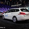 Photo Peugeot 308 SW Blanc Banquise - Salon de Paris 2014